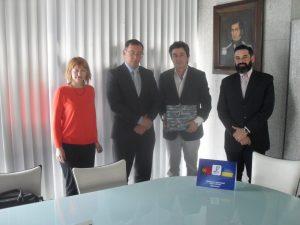 AEVC recebe Consul da Ucrânia na sua nova sede