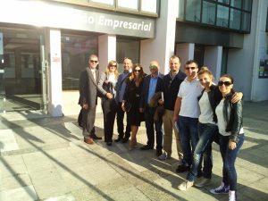 Viana recebe comitiva de empresários Croatas no âmbito do projeto TouriSME