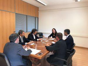CEVAL reúne-se com Secretária de Estado da Indústria