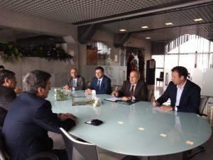 Presidente da CCP visita AEVC