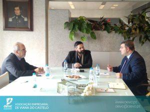 AEVC recebe Presidente da Câmara de Comércio de Cyclades/Grécia